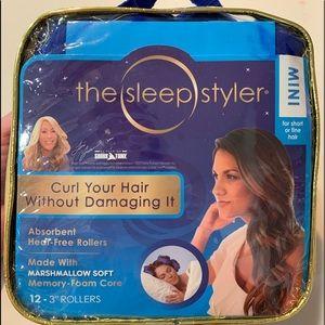 The sleep styler hair curlers